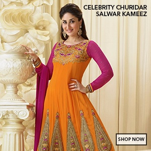 Celebrity Salwar Suits