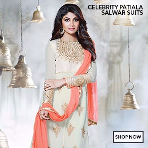 Celebrity Patiala Salwar Suits