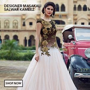 Designer Masakali salwar suits