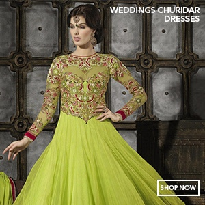 Churidar Wedding Salwar Suits