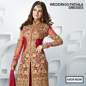 wedding patiala salwar kameez