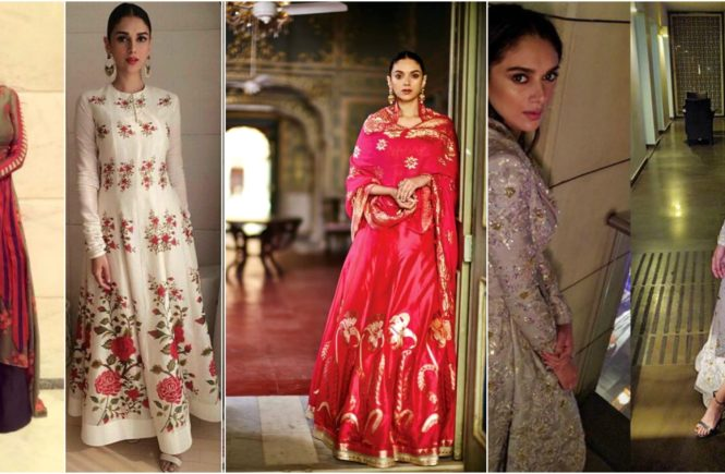 Aditi Rao Hydari in salwar suit