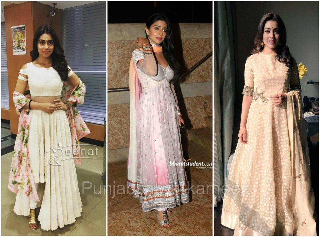shriya saran in Salwar Kameez, South indian actress in salwar kameez, shriya saran style,