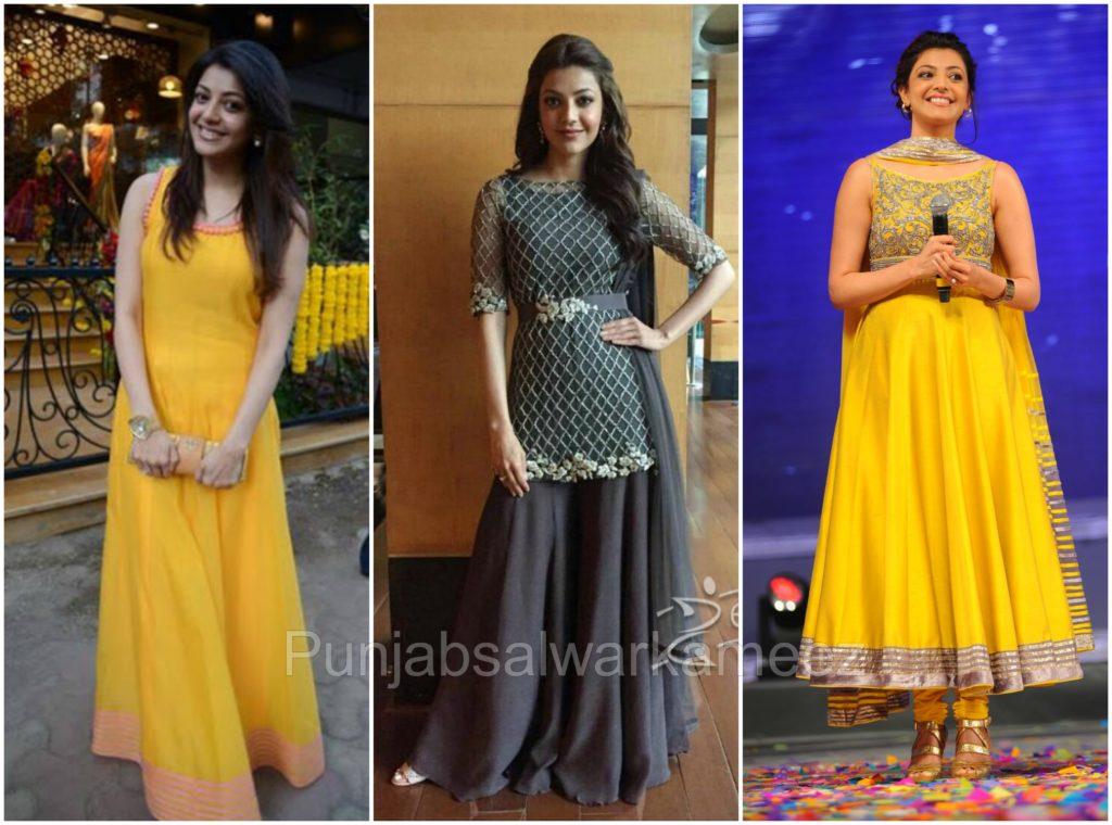 Kajal Agarwal in Salwar Kameez, South indian actress in salwar kameez, salwar kameez trends to follow from South Indian actresses, Kajal Agarwal Style