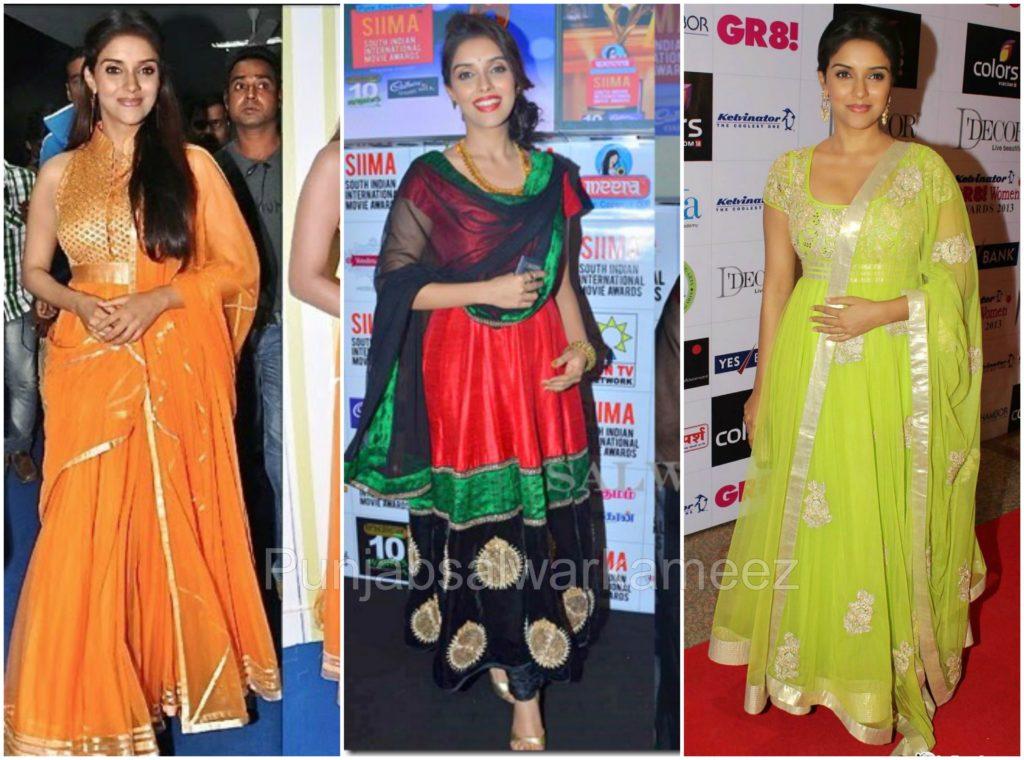 Asin in Salwar Kameez, South indian actress in salwar kameez, Asin style,