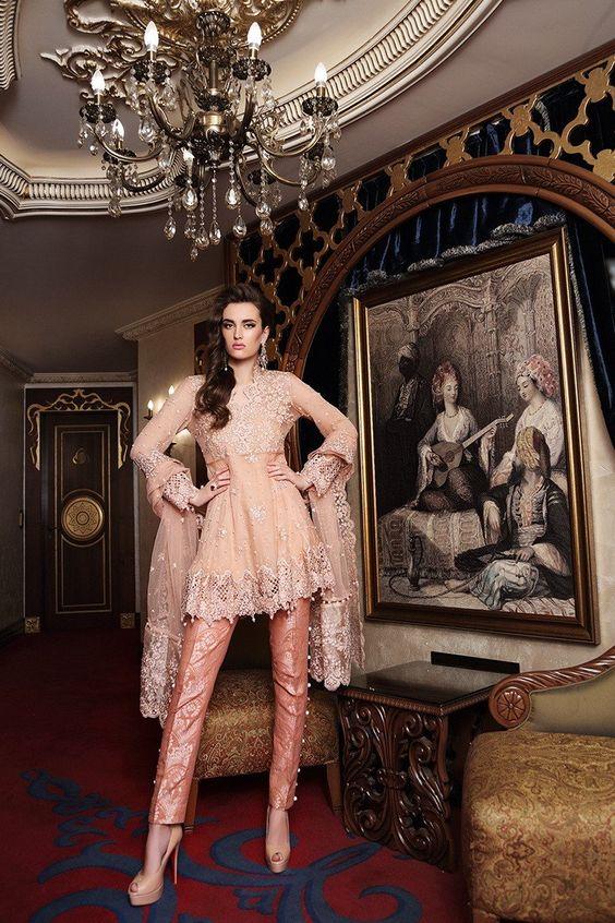 Maria B salwar kameez collection, eid fashion, pakistani designers salwar kameez