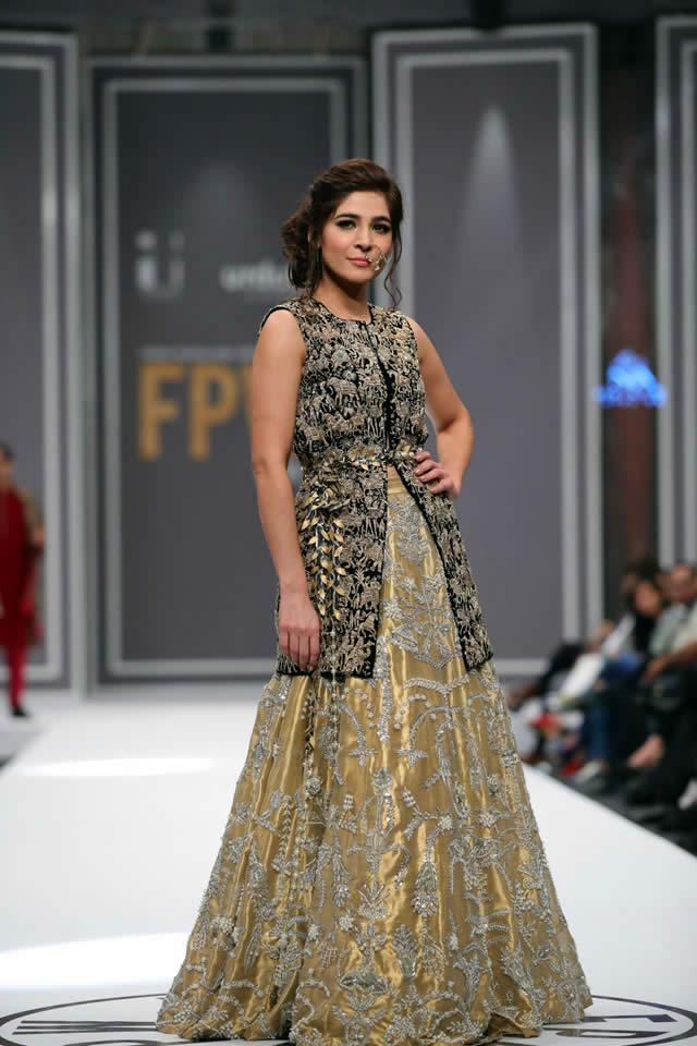 Nida Azwer Collection at FPW 2016, pakistani designer salwar kameez, eid fashion trends
