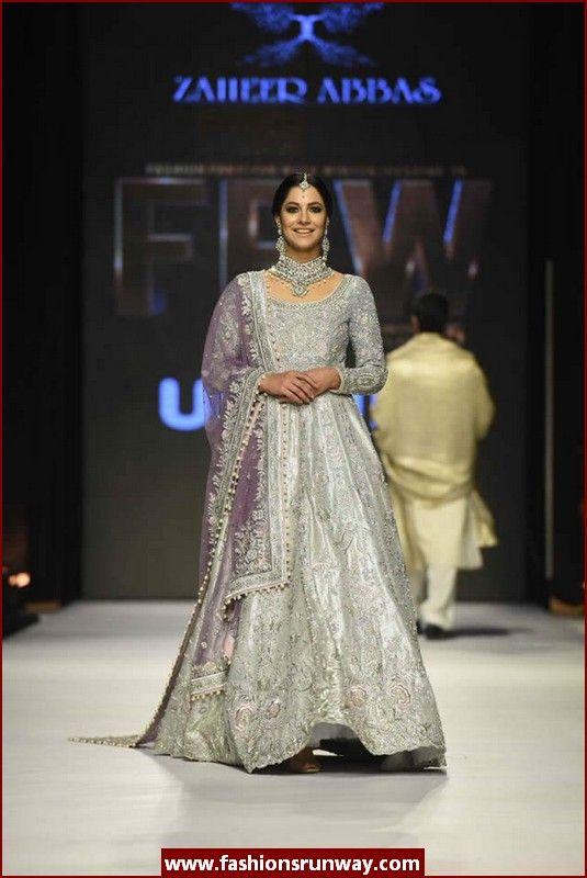 Zaheer Abbas Designer Bridal Collection, zaheer abaas pakistani salwar kameez, eid fashion trends