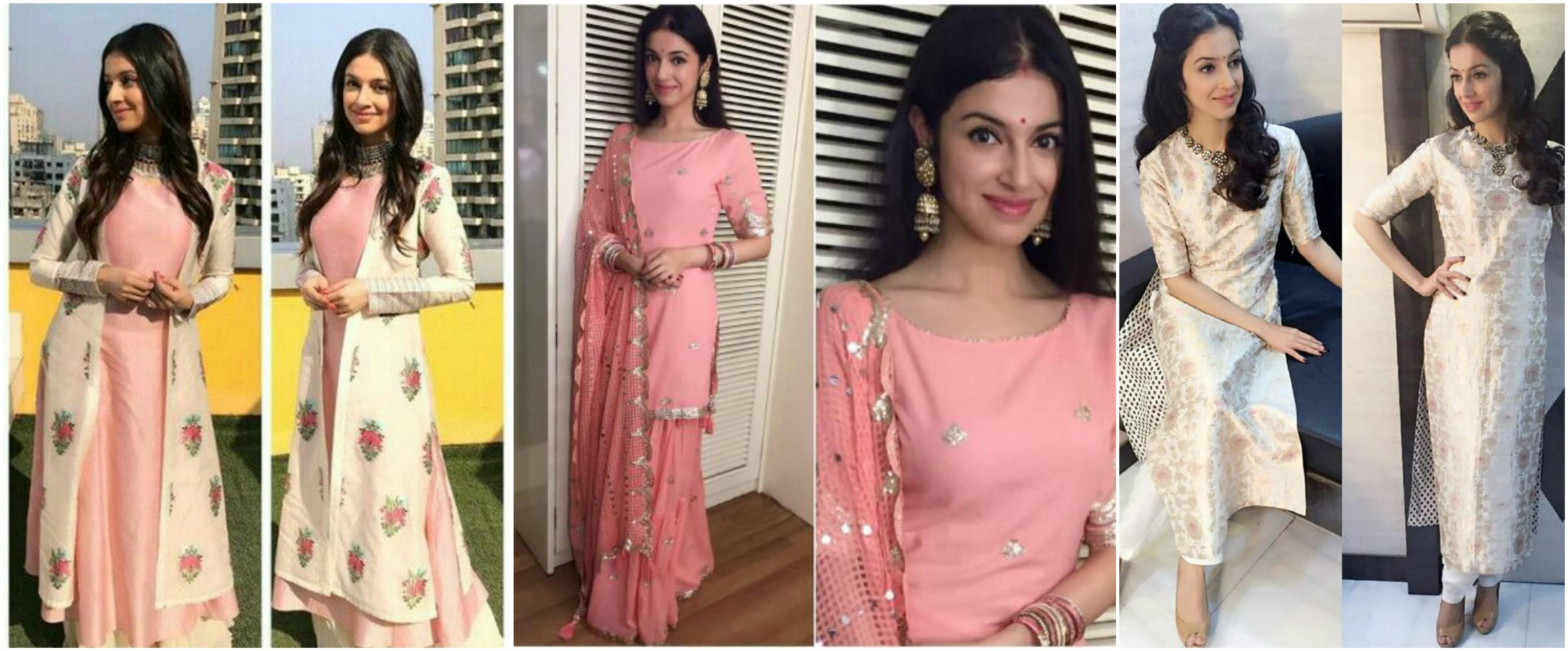 divya khosla kumar in salwar suit