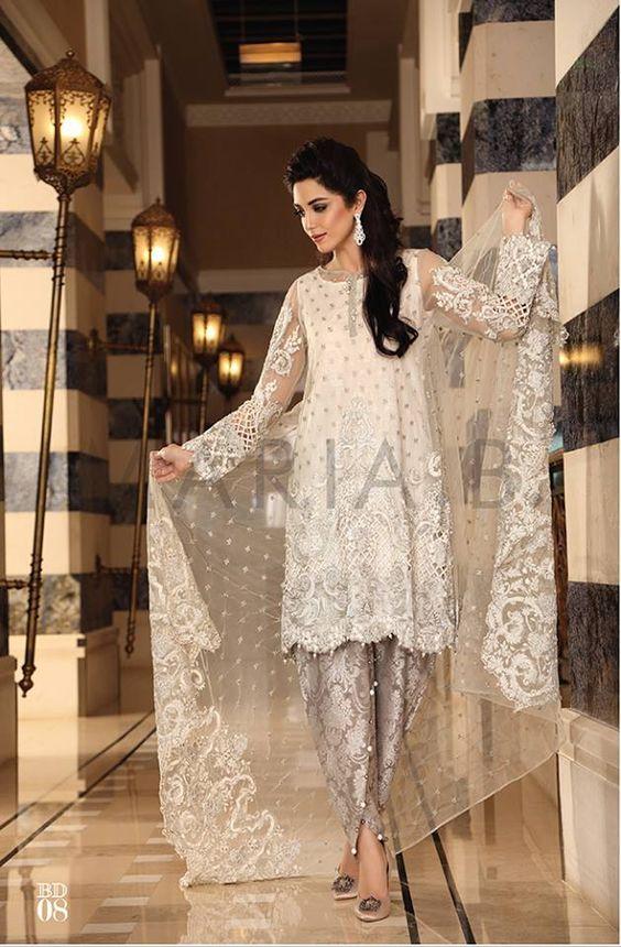 Maria B salwar kameez collection, eid fashion, Pakistani designer salwar kameez