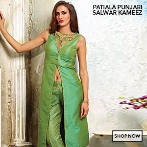 aa9a44e14 Patiala Salwar Kameez  Buy Patiala Suits Online